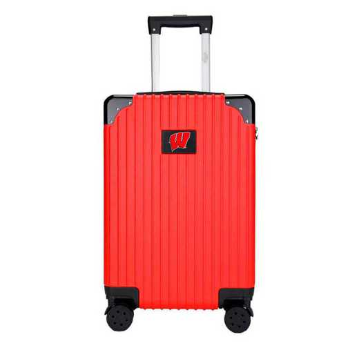"CLWIL210-RED: Wisconsin Badgers Premium 21"" Carry-On Hardcase"