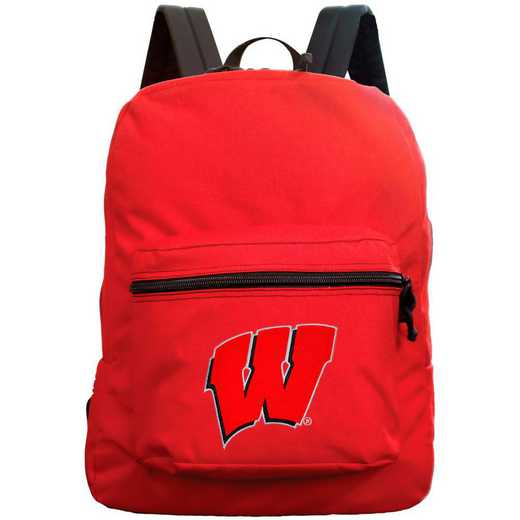 "CLWIL710-RED: 16"" Made in USA Premium Backpack"