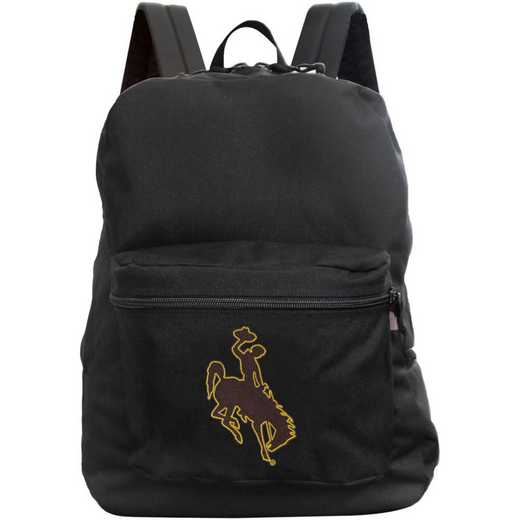 "CLWYL710-BLACK: 16"" Made in USA Premium Backpack"