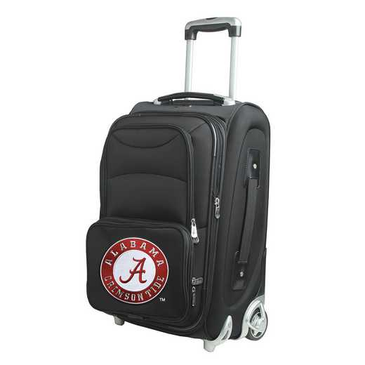 CLALL203: NCAA Alabama Crimson Tide  Carry-On  Rllng Sftsd Nyln