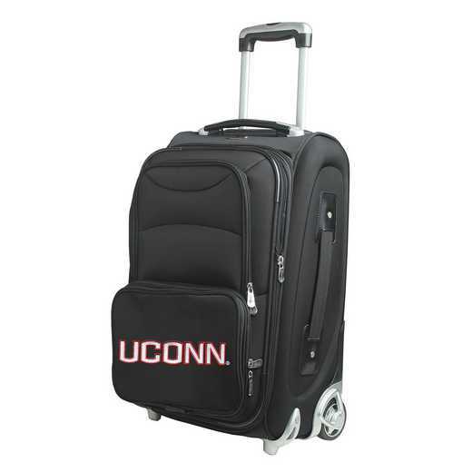 CLCNL203: NCAA Connecticut Huskies  Carry-On  Rllng Sftsd Nyln
