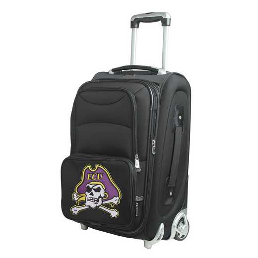 CLECL203: NCAA East Carolina Pirates  Carry-On  Rllng Sftsd Nyln