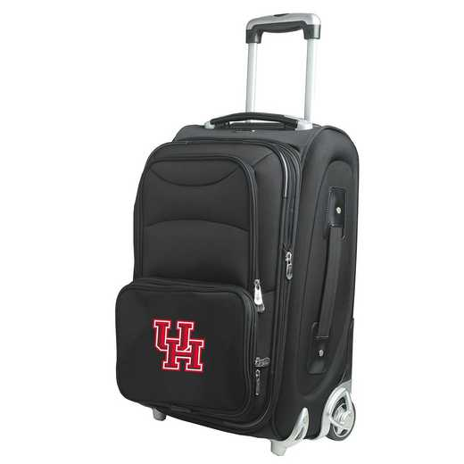 CLHUL203: NCAA Houston Cougars  Carry-On  Rllng Sftsd Nyln