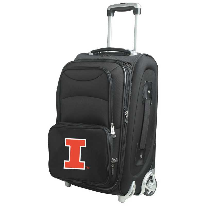 CLILL203: NCAA Illinois Fighting Illini  Carry-On  Rllng Sftsd Nyln