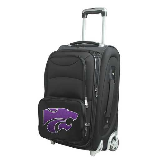 CLKSL203: NCAA Kansas St Wildcats  Carry-On  Rllng Sftsd Nyln