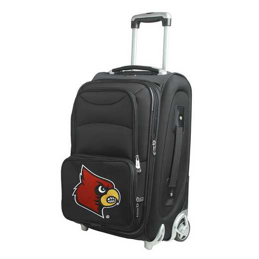 CLLOL203: NCAA Louisville Cardinals  Carry-On  Rllng Sftsd Nyln