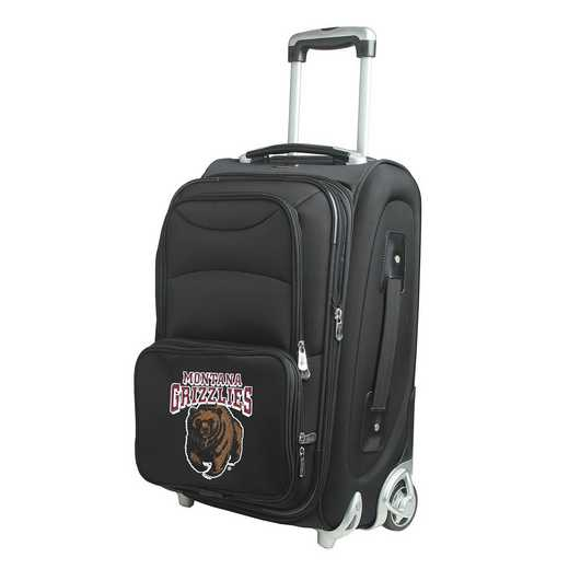 CLMGL203: NCAA Montana Grizzlies  Carry-On  Rllng Sftsd Nyln