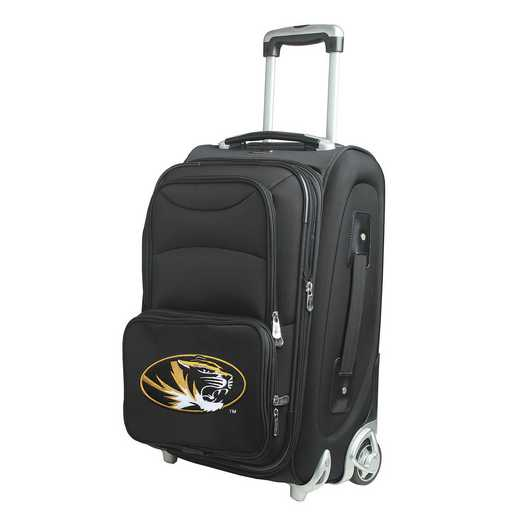 CLMOL203: NCAA Missouri Tigers  Carry-On  Rllng Sftsd Nyln