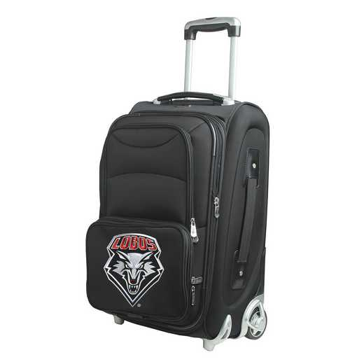 CLNML203: NCAA New Mexico Lobos  Carry-On  Rllng Sftsd Nyln