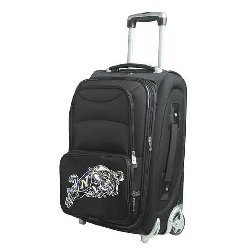 CLNVL203: NCAA Navy Midshipmen  Carry-On  Rllng Sftsd Nyln
