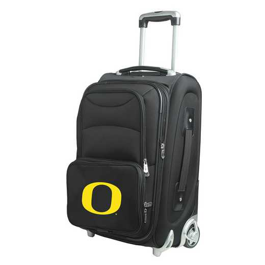 CLODL203: NCAA Oregon Ducks  Carry-On  Rllng Sftsd Nyln
