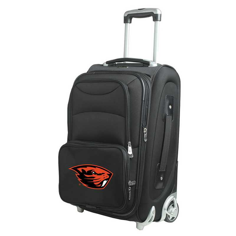 CLOGL203: NCAA Oregon St Beavers  Carry-On  Rllng Sftsd Nyln