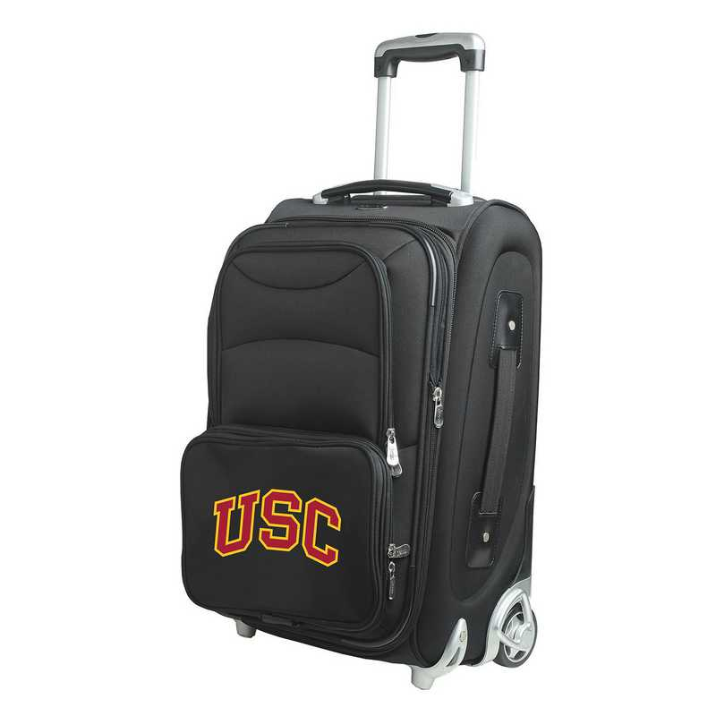 CLSCL203: NCAA Southern Cal Trojans  Carry-On  Rllng Sftsd Nyln