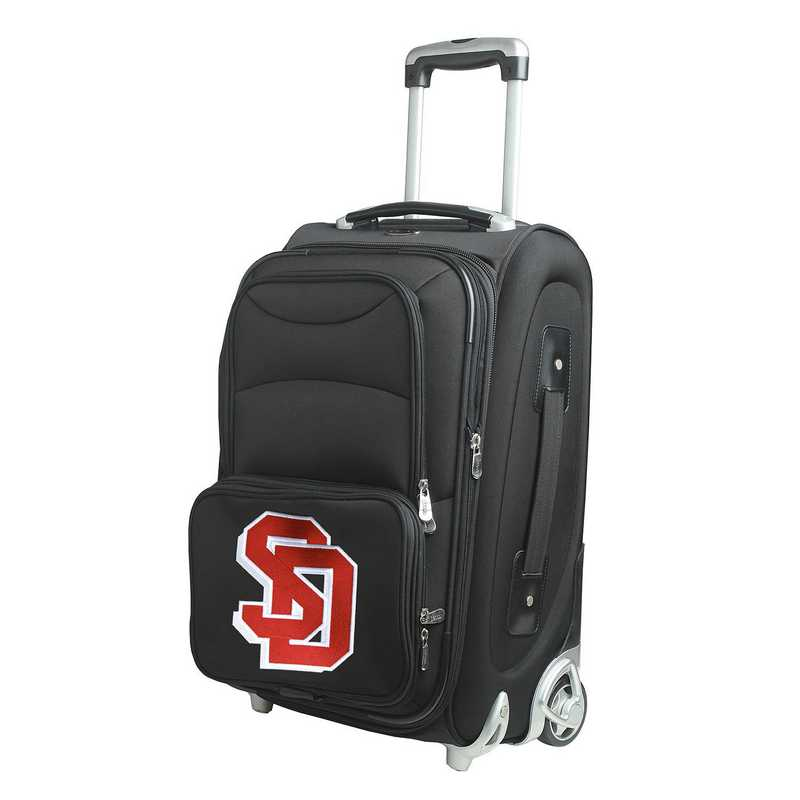 CLSDL203: NCAA South Dakota Coyotes  Carry-On  Rllng Sftsd Nyln