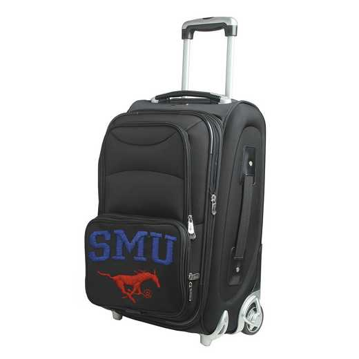 CLSML203: NCAA Southern Methodist Mustangs  Carry-On  Rllng Sftsd Nyln