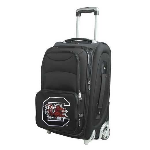 CLSOL203: NCAA South Carolina Gamecocks  Carry-On  Rllng Sftsd Nyln