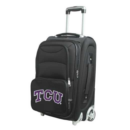 CLTCL203: NCAA TCU Horned Frogs  Carry-On  Rllng Sftsd Nyln