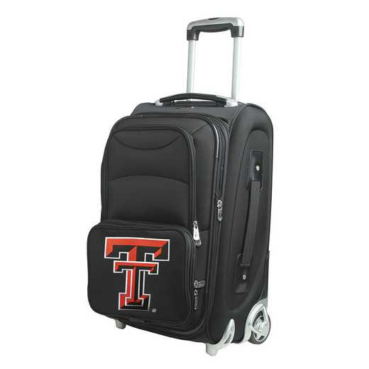 CLTTL203: NCAA Texas Tech Red Raiders  Carry-On  Rllng Sftsd Nyln