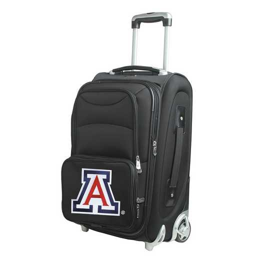 CLUAL203: NCAA Arizona Wildcats  Carry-On  Rllng Sftsd Nyln