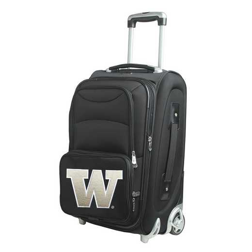 CLWAL203: NCAA Washington Huskies  Carry-On  Rllng Sftsd Nyln