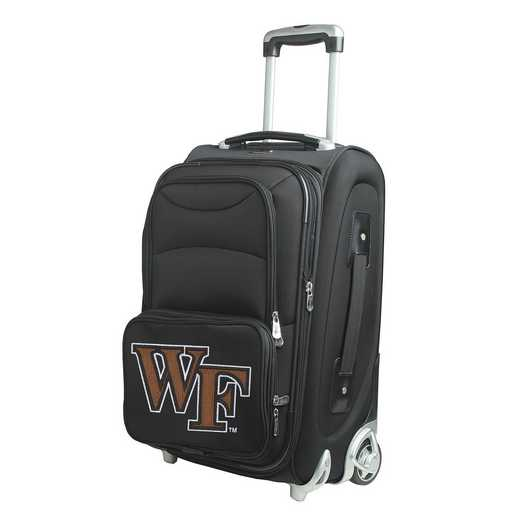 CLWFL203: NCAA Wake Forest Demon Deacons  Carry-On  Rllng Sftsd Nyln