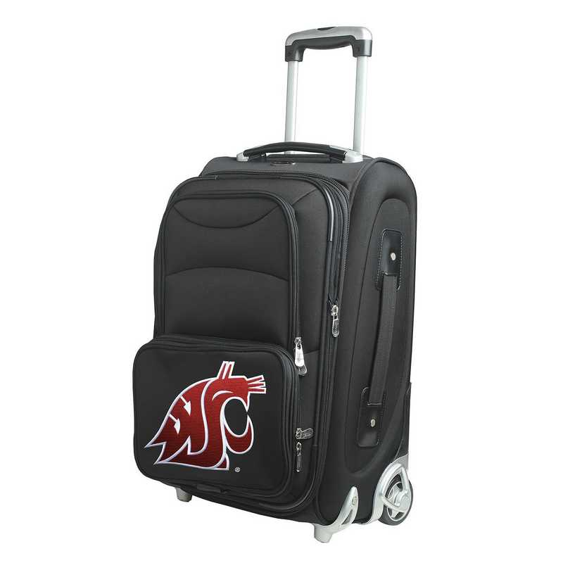 CLWSL203: NCAA Washington St Cougars  Carry-On  Rllng Sftsd Nyln