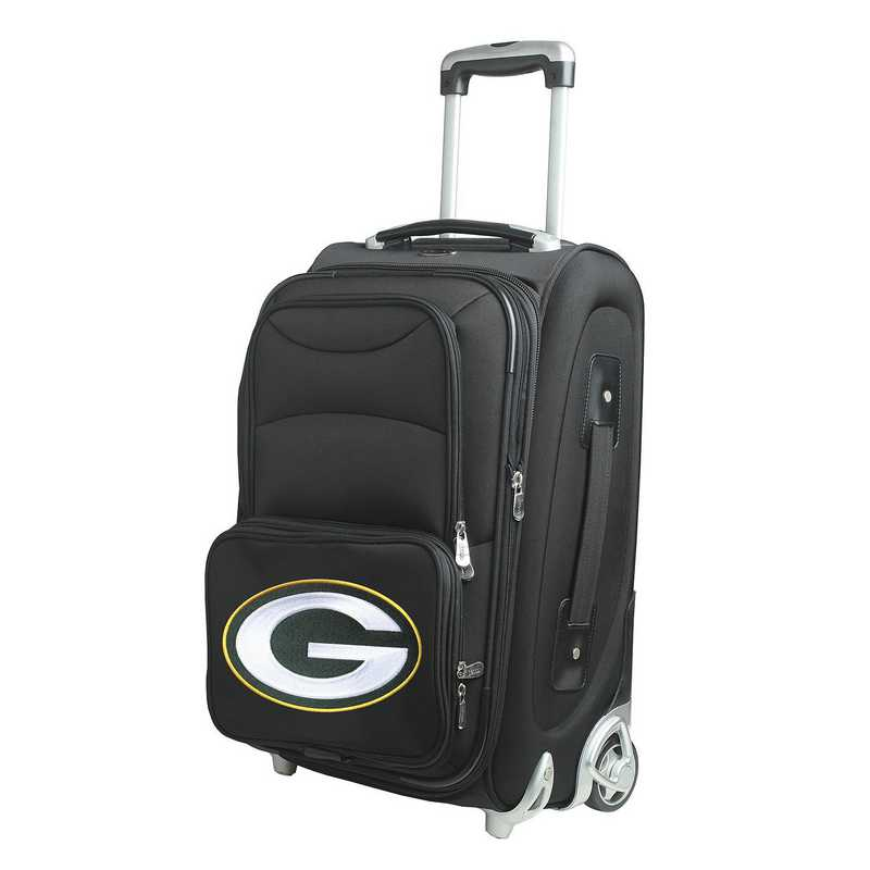 NFGPL203: NFL Green Bay Packers  Carry-On  Rllng Sftsd Nyln