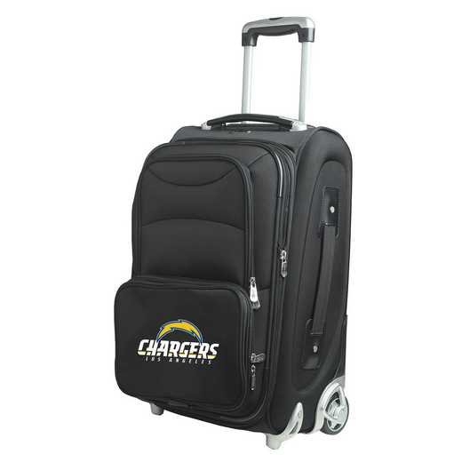 NFLCL203: NFL Los Angeles Chargers   Carry-On  Rllng Sftsd Nyln
