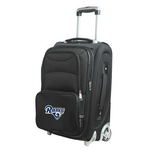 NFLRL203: NFL Los Angeles Rams  Carry-On  Rllng Sftsd Nyln