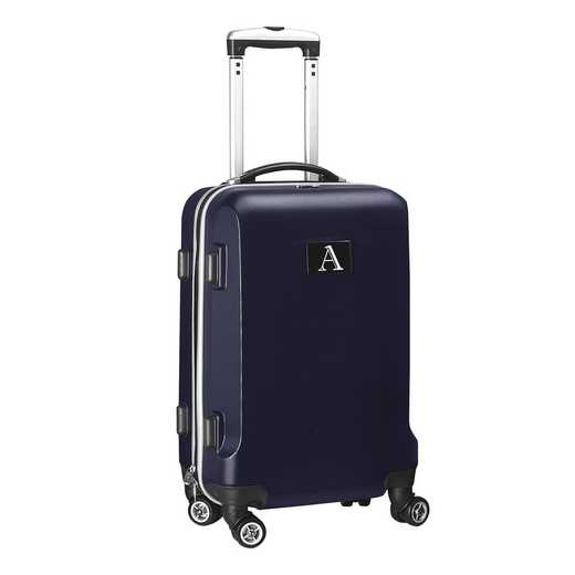"INAAL204-NAVY: Initial Name Letter ""A"" Navy Luggage"