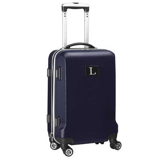 "INLLL204-NAVY: Initial Name Letter ""L"" Navy Luggage"
