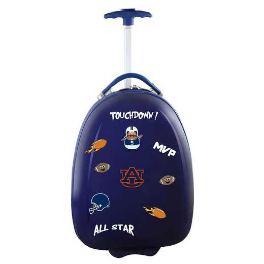 CLAUL601-NAVY: NCAA Auburn Tigers Kids Luggage Navy