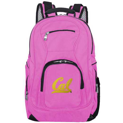 CLCBL704-PINK: NCAA California Bears Backpack Laptop