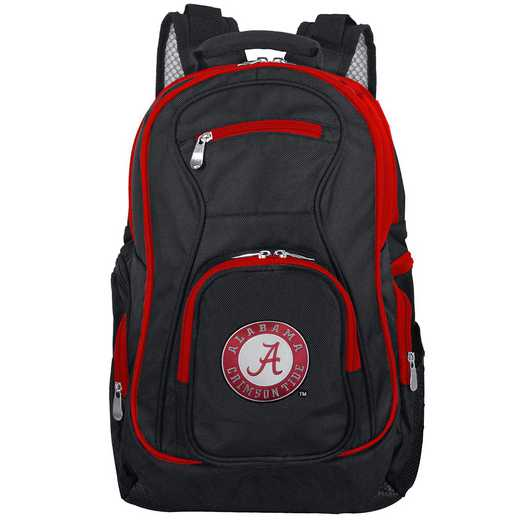 CLALL708: NCAA Alabama Crimson Tide Trim color Laptop Backpack