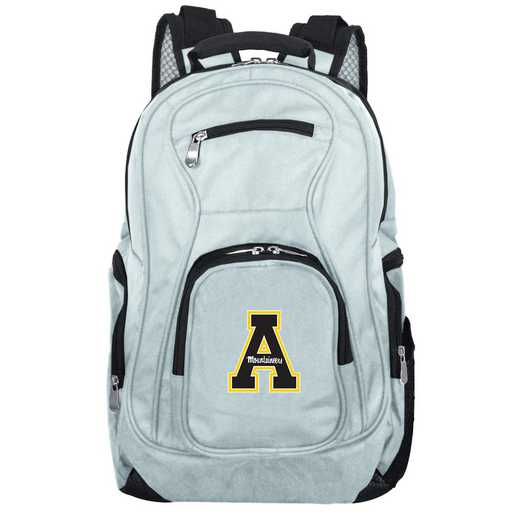 CLAPL704-GRAY: NCAA Appalachian State Mountaineers Backpack Laptop