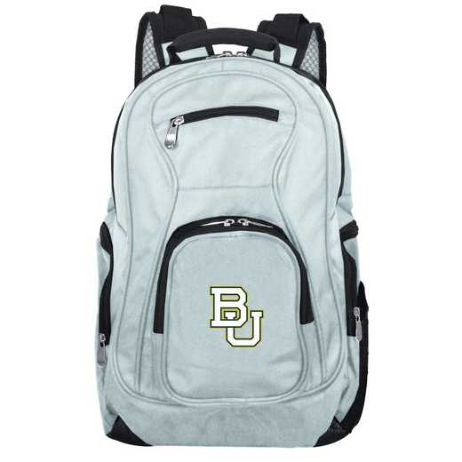CLBAL704-GRAY: NCAA Baylor Bears Backpack Laptop