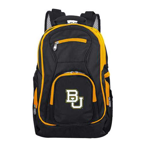 CLBAL708: NCAA Baylor Bears Trim color Laptop Backpack