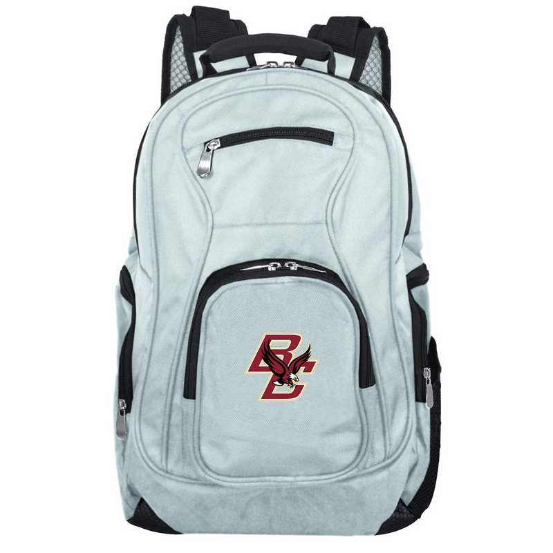 CLBCL704-GRAY: NCAA Boston College Eagles Backpack Laptop