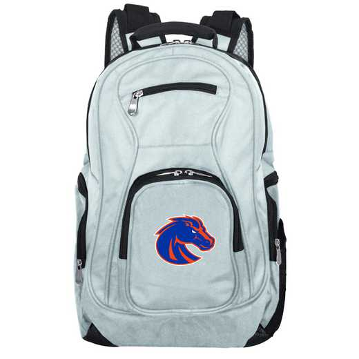 CLBSL704-GRAY: NCAA Boise State Broncos Backpack Laptop