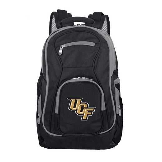 CLCFL708: NCAA Central Florida Golden Knights Trim color Laptop Backpack