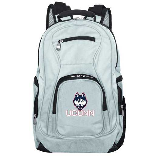 CLCNL704-GRAY: NCAA Connecticut Huskies Backpack Laptop