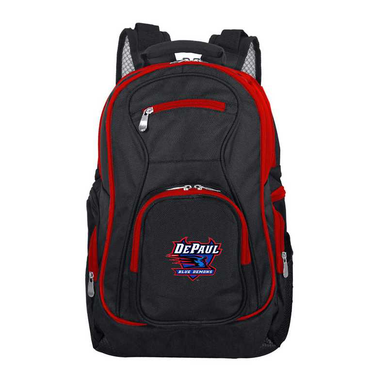 CLDPL708: NCAA Depaul Trim color Laptop Backpack