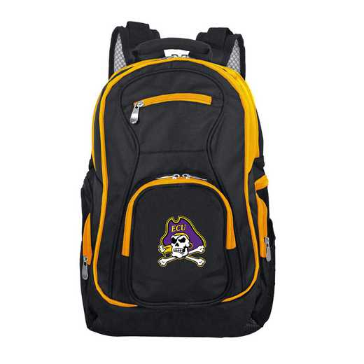 CLECL708: NCAA East Carolina Pirates Trim color Laptop Backpack