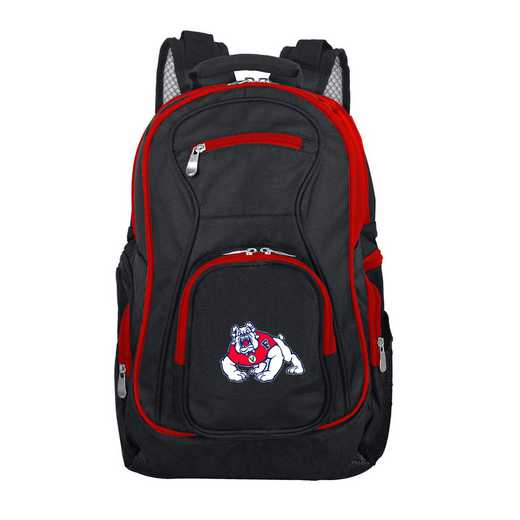 CLFRL708: NCAA Fresno State Bulldogs Trim color Laptop Backpack