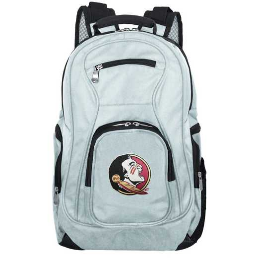 CLFSL704-GRAY: NCAA Florida State Seminoles Backpack Laptop