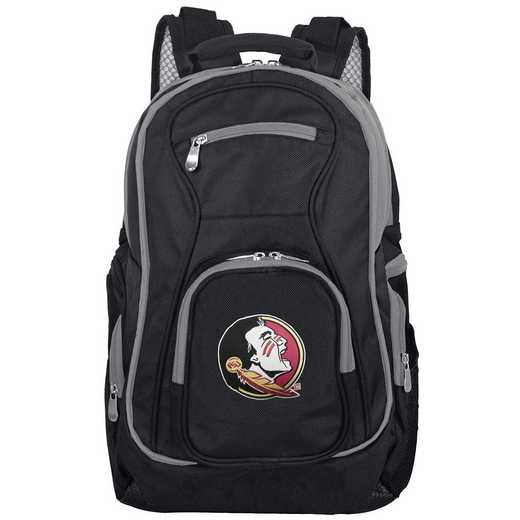 CLFSL708: NCAA Florida State Seminoles Trim color Laptop Backpack