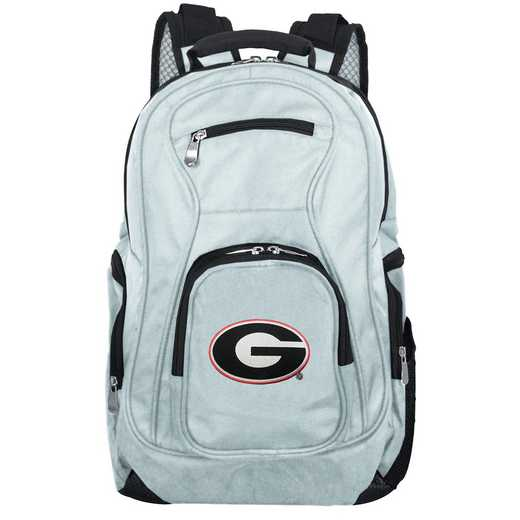 CLGAL704-GRAY: NCAA Georgia Bulldogs Backpack Laptop