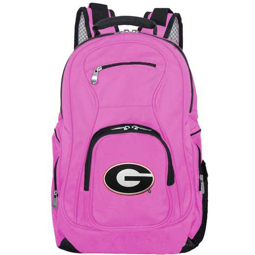 CLGAL704-PINK: NCAA Georgia Bulldogs Backpack Laptop