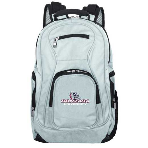 CLGZL704-GRAY: NCAA Gonzaga University Bulldogs Backpack Laptop