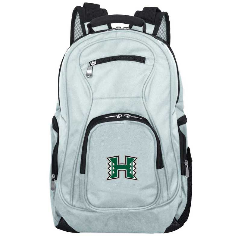 CLHIL704-GRAY: NCAA Hawaii Warriors Backpack Laptop